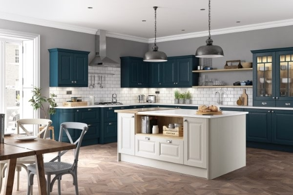 classic painted kitchen