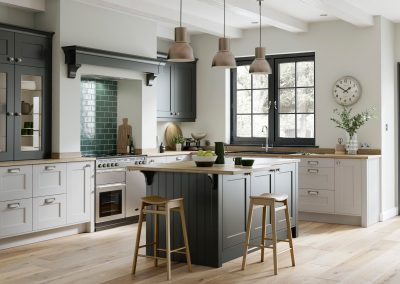 chalgrove painted shaker kitchen